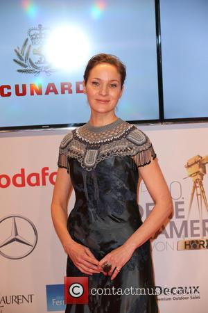 Jeanette Hain - Shots of a host of stars as they arrive for the annual German Goldene Kamera Awards 2015...