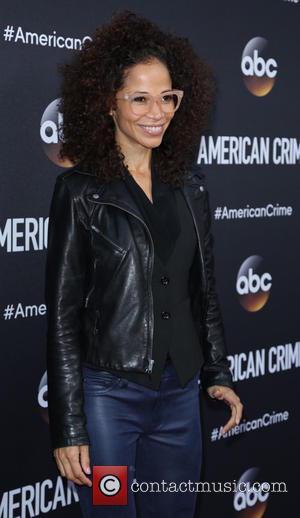Sherri Saum - Premiere of ABC's 'American Crime' at Ace Hotel - Arrivals - Los Angeles, California, United States -...