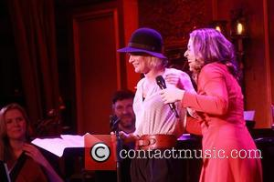 Martha Plimpton and Jessica Vosk - NYC cabaret debut of Jessica Vosk: I Came from Jersey For This, held at...