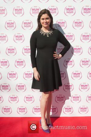 Amanda Lamb - The10th anniversary year of theTesco Mum of the Year Awards 2015 held at The Savoy - Arrivals....