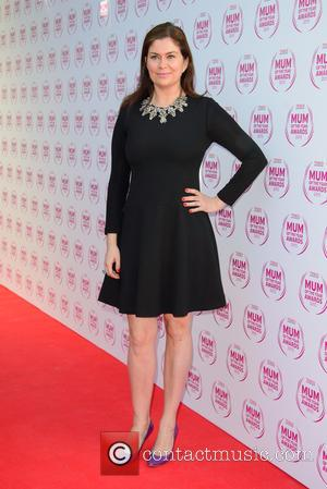 Amanda Lamb - Tesco Mum Of The Year Awards held at the Savoy Hotel - Arrivals - London, United Kingdom...
