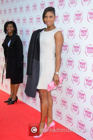 Denise Lewis - Tesco Mum Of The Year Awards held at the Savoy Hotel - Arrivals - London, United Kingdom...