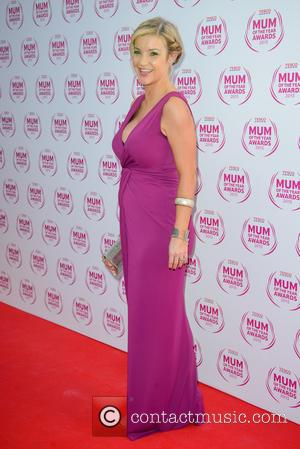 Helen Skelton - Tesco Mum Of The Year Awards held at the Savoy Hotel - Arrivals - London, United Kingdom...