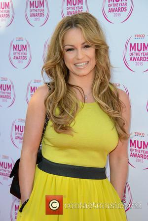 Ola Jordan - Tesco Mum Of The Year Awards held at the Savoy Hotel - Arrivals - London, United Kingdom...