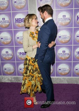 Sarah Paulson and Andrew Rannells