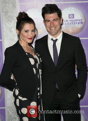 Tess Sanchez and Max Greenfield