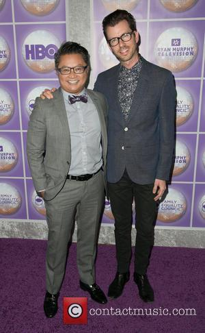 Alec Mapa and Jamison Hebert