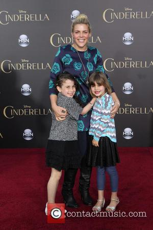 Busy Philipps and Birdie Leigh Silverstein - A host of stars were snapped as they attended the premiere of Disney's...