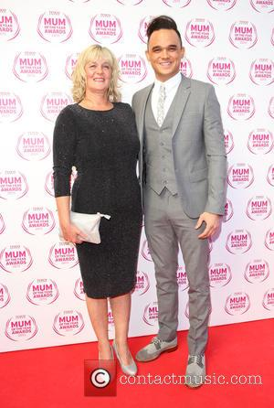 Gareth Gates and Wendy Broadbent Farry