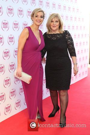 Helen Skelton and Janet Skelton - Tesco Mum of the Year Awards 2015 held at the Savoy - Arrivals -...