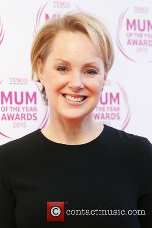 Sally Dynevor - Tesco Mum of the Year Awards 2015 held at the Savoy - Arrivals - London, United Kingdom...