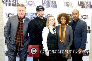 Alec Baldwin, Alfre Woodard and Ali Shaheed Muhammad - Chicago Poets and Musicians attend the Louder than a Bomb Festival's...