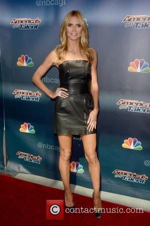 Heidi Klum - 'America's Got Talent' - Arrivals - Newark, New York, United States - Monday 2nd March 2015