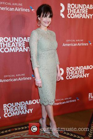 Carla Gugino - A variety of stars were photographed as they arrived at the 2015 Roundabout Theatre Company Spring Gala...