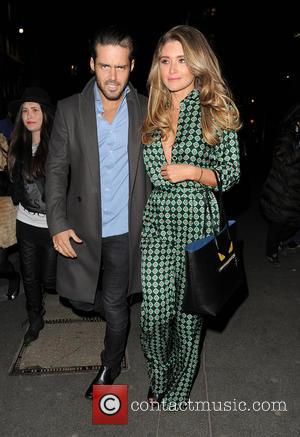 Spencer Matthews and Lauren Hutton - Celebrities attend Dan Wootton's Bizarre Annual 2015 at Steam & Rye - London, United...