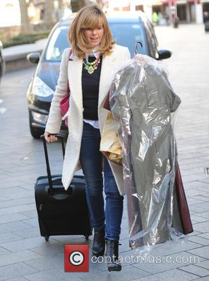 Kate Garraway - Kate Garraway seen out and about in London - London, United Kingdom - Monday 2nd March 2015