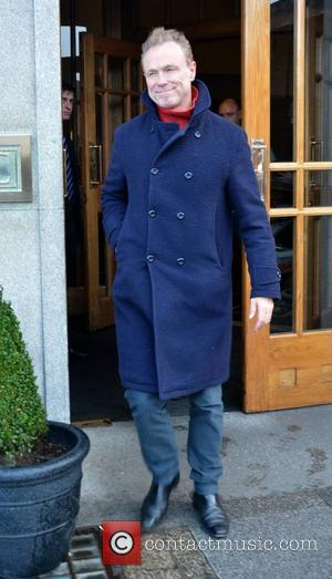 Gary Kemp - Members of 80s new wave band Spandau Ballet seen leaving The Clarence Hotel to perform the first...