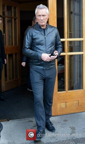 Martin Kemp - Members of 80s new wave band Spandau Ballet seen leaving The Clarence Hotel to perform the first...