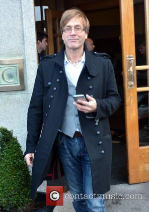 Steve Norman - Members of 80s new wave band Spandau Ballet seen leaving The Clarence Hotel to perform the first...