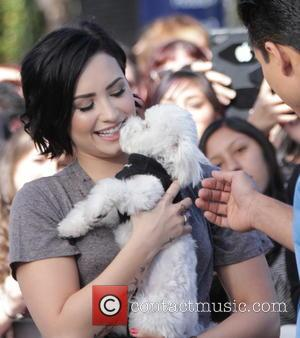 Demi Lovato and Mario Lopez