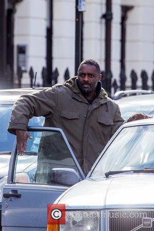 'Luther' Is Back! Idris Elba Begins Filming Special Episodes In East London [Pictures]