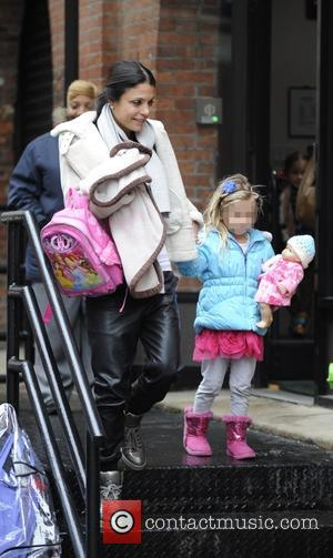 Bethenny Frankel and Bryn Hoppy - Bethenny Frankel picks her daughter up from school - Manhattan, New York, United States...