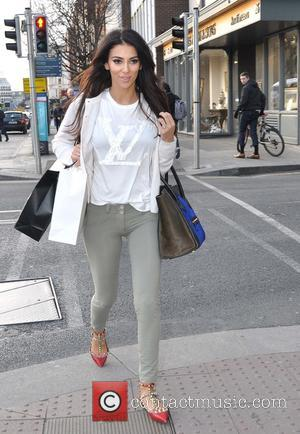 Georgia Salpa - Model Georgia Salpa seen out shopping this afternoon along St.Stephens Green.Georgia announced this week that she is...