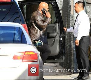 Mike Tyson - Mike Tyson at the Jimmy Kimmel studio for an appearance on Jimmy Kimmel Live! at Jimmy Kimmel...