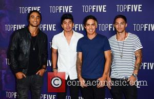 Justice Crew - A variety of stars including American comedian Chris Rock were photographed as they attended the 'Top Five'...
