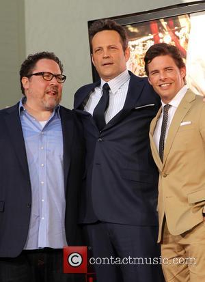 Jon Favreau, Vince Vaughn and James Marsden