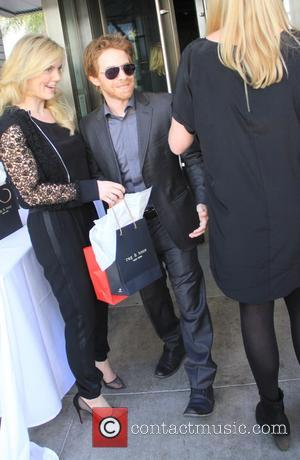 Seth Green - Shots of a variety of stars after having paid a visit to the Palm restaurant in Beverly...