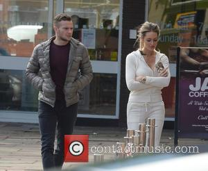 Tom Cleverley and Georgina Dorsett