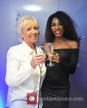 Sinitta and Spa Staff Member