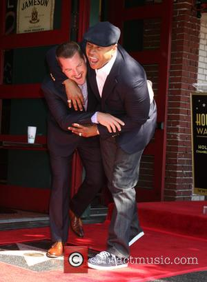Chris O'Donnell, LL Cool J and James Todd Smith - Chris O'Donnell is honored with a star on the Hollywood...