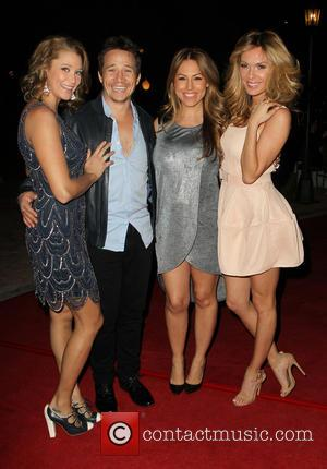 Kristen Renton, Travis Aaron Wade, Jessica Hall and Jasmine Dustin