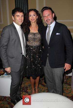 Sofia Milos and David Arquette
