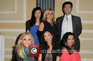 Sofia Milos, Gloria Kisel-Hollis and Guests