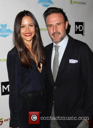 David Arquette and Christina Mclarty