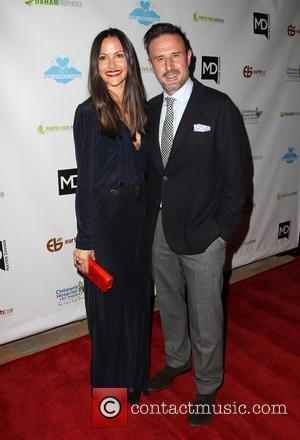 David Arquette and Christina McLarty - A host of stars were photographed as they attended the Brighter Future for Children...