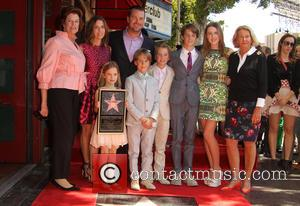 Caroline Fentress, Chris O'Donnell, Lily Anne O'Donnell, Finley O'Donnell, Christopher O'Donnell Jr., Maeve Frances O'Donnell, Charles McHugh O'Donnell and Julie Ann Rohs von Brecht