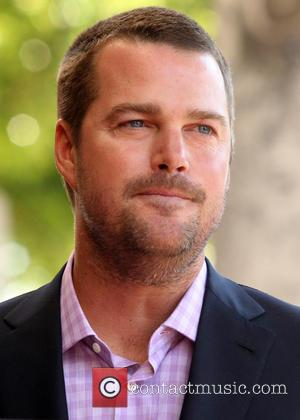 Chris O'Donnell - Shots of American actor Chris O'Donnell as he was honored with a star on the Hollywood Walk...