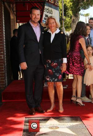 Chris O'Donnell and Julie Ann Rohs von Brecht - Shots of American actor Chris O'Donnell as he was honored with...