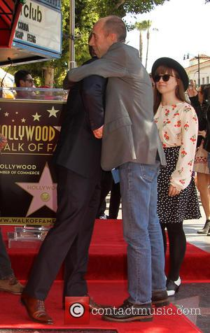 Chris O'Donnell and Miguel Ferrer - Shots of American actor Chris O'Donnell as he was honored with a star on...