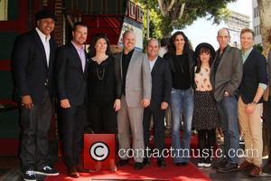 LL Cool J, Chris O'Donnell, Daniela Ruah, Renée Felice Smith, Miguel Ferrer and Barrett Foa - Shots of American actor...
