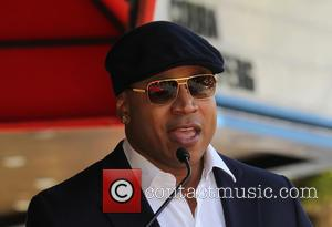 LL Cool J - Shots of American actor Chris O'Donnell as he was honored with a star on the Hollywood...