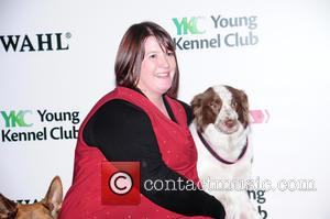 Amy Jackson, Jess and Starters to heelwork winner - Crufts 2015 Opening Day held at the NEC Birmingham - Day...