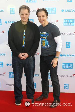 Craig Kielburger and Marc Kielburger