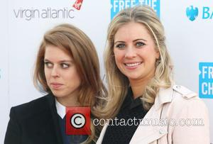 Princess Beatrice and Holly Branson