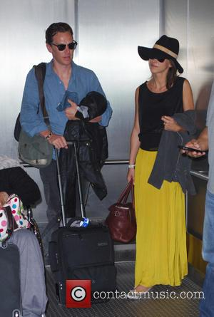 Benedict Cumberpatch and Sophie Hunter