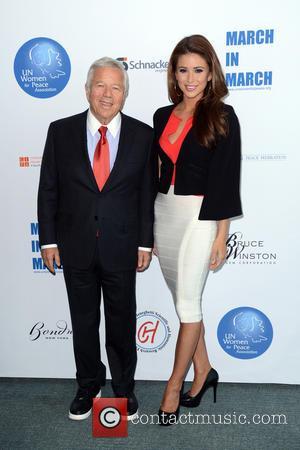 Robert Kraft and Nia Sanchez